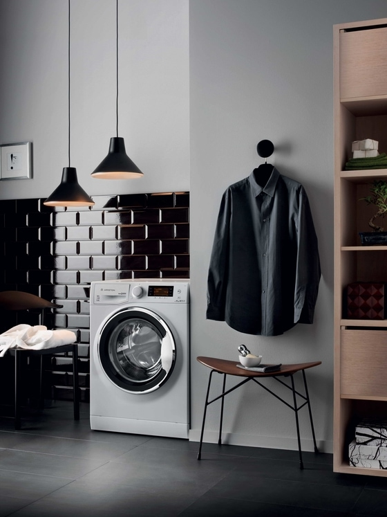 Ariston Laundry machine as banner image